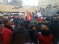YUNANISTAN - Macaristan'da Metro Protestosu