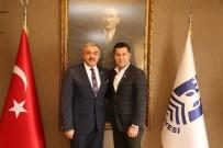 KıZıLAY - Milas Kızılay Şubesi'nden Başkan Kocadon'a Ziyaret