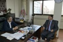 MUHTARLAR KONFEDERASYONU - Muhtarlar Konfederasyonu Başkanı Akdeniz'den Isparta Belediyesi'ne Ziyaret