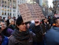 ABD BAŞKANI - New York'ta Trump karşıtı gösteri