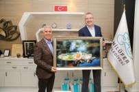 ALI ÖZKAN - Özkan'dan Bozbey'e Ziyaret