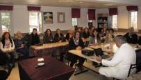 MENDERES NEHRİ - Prof. Dr. Öztek, 'Kanser Ve Korunma Yolları' Konferansı Verdi