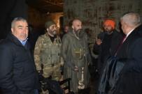 BORDO BERELİLER - Samet Aybaba 'Bordo Bereliler Suriye' setinde