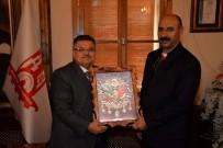 TÜRKIYE İŞ KURUMU - SGK İl Müdür Yardımcısı Gülmez'den Başkan Yağcı'ya Veda Ziyareti