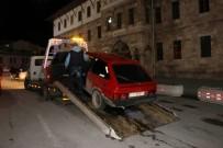 TRAFİK TESCİL - Sivas'ta Polisten 'Şok' Uygulama