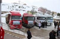 İNSANI YARDıM VAKFı - Sivas'tan Halep'e 6 Tır Yardım