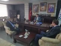 DEMİRYOLLARI - TCDD Bölge Müdürü Nihat Aslan'dan Başkan Bakıcı'ya Ziyaret