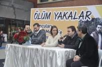 MERSIN - Ünlü oyuncular Forum Mersin'de ziyaretçilerle buluştu