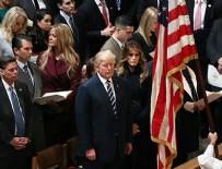 GEORGE WASHINGTON - Trump, Ulusal Katedral'deki dini törene katıldı