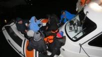 SAHİL GÜVENLİK - Ayvacık'ta 42 Kaçak Yakalandı