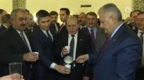 ANAYASA KOMİSYONU - Başbakan Yıldırım, Meclis'te Milletvekillerine Süt Dağıttı