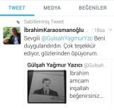 CUMHURBAŞKANı - Engelli Gülşah, Başkan Karaosmanoğlu'nu Resmetti