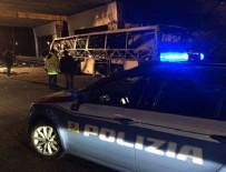 TRAFIK KAZASı - İtalya'da otobüs kazası