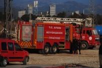 YANGINA MÜDAHALE - Ortaklar OSB'de Fabrika Yangını