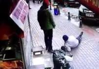 OTOPARK GÖREVLİSİ - Otopark Görevlisinin Vurulma Anı Kamerada