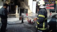 BAHÇELİEVLER - Patlayan Trafoda Yangın Çıktı
