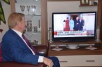 PROPAGANDA - Trump'ın Devir Teslim Törenini Pür Dikkat İzledi