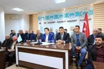KENTSEL DÖNÜŞÜM PROJESI - Yeni Sanayi Sitesi Projesi Esnafa Anlatıldı