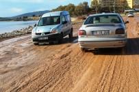 YOLCU TAŞIMACILIĞI - Ayvalık'ta Sürücülerin Gönül Yolu Çilesi