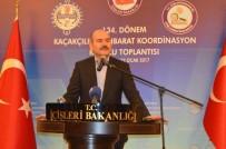İÇIŞLERI BAKANLıĞı - Bakan Soylu, Kaçakçılık İstihbarat Koordinasyon Kurulu Toplantısı'na Katıldı (2)