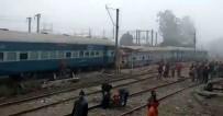 YOLCU TRENİ - Hindistan'da tren kazası: 36 ölü