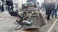 DİREKSİYON - İzmir'de Trafik Kazası Açıklaması 1'İ Ağır 6 Yaralı