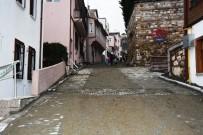 MİMARİ - Kapanca Sokakta Çalışmalar Sürüyor