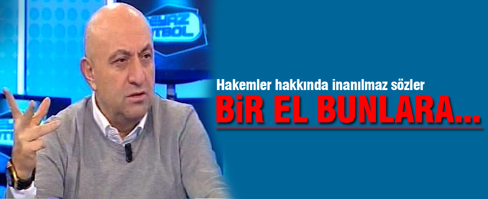Sinan Engin: Türk futbolun üzerinde bir el var