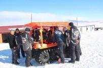DEPREM - AFAD'ın 8X8 Anfibik Aracı Kar Eğitiminde