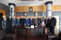 YUSUF ALEMDAR - ASKF Başkanı Zımba'dan Alemdar'a Ziyaret