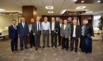 İBRAHIM KARAOSMANOĞLU - Başkan Karaosmanoğlu, Ahıska Türklerini Ağırladı