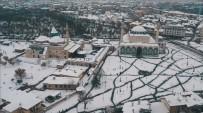 OKAN YıLMAZ - Beyaza Bürünen Türkiye Havadan Görüntülendi