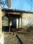 Cihanbeyli'de Ev Yangını