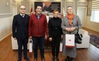 FEN EDEBİYAT FAKÜLTESİ - Kültür Ve Sanat Komisyonu, Başkan Genç'i Ziyaret Etti