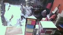 HIRSIZ - Nişantaşı'ndaki Suç Makinesi Vücuduyla Cam Kapıyı Böyle Kırdı
