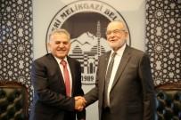 İLETİŞİM MERKEZİ - Saadet Partisi Genel Başkanı Temel Karamollaoğlu, Melikgazi'de