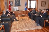 GÖNÜL KÖPRÜSÜ - Sağlık Yöneticilerinden Rektör Gündoğan'a Ziyaret
