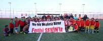 FUTBOL TURNUVASI - Şehit Fethi Sekin Futbol Turnuvası Başladı