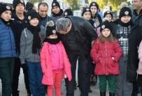 Şehit Ve Gazi Çocuklarının Kar Sevinci