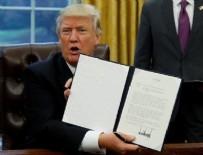 BAŞKANLIK SEÇİMİ - Trump imzayı attı