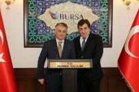 BURSA VALISI - Vali Yazıcı'dan Bursa Valisi Küçük'e Ziyaret