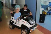 AKÜLÜ ARABA - BEÜ Minikleri Ameliyata Arabayla Götürüyor