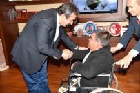 HAYIRSEVER İŞ ADAMI - Çetin'den Engellilere Akülü Elektrikli Sandalye