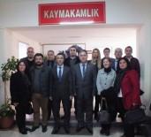 CHP Milas Yönetiminden Kaymakam Arslan'a Ziyaret