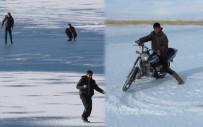 PORSUK - Donan Gölde Motosikletli Drift