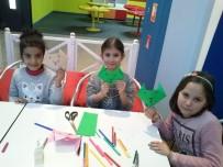 EĞLENCE MERKEZİ - Gaziantepli Miniklerden Origami Şov