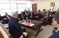 MEHMET SIYAM KESIMOĞLU - Kesimoğlu, Kılıçdaroğlu'nu Ziyaret Etti