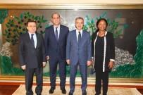 OSMAN HAMDİ BEY - Köşker'e Afrika'dan Konuk Başkanlar