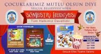 PATLAMIŞ MISIR - Selçuk Belediyesi'nden Sömestr Hediyesi