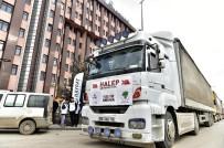 ABDULLAH ÖZER - Tırlar Halepli Mazlumlar İçin Yola Çıktı